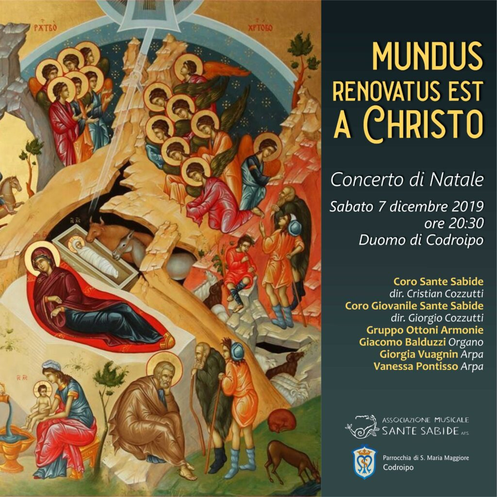 Mundus renovatus est a Christo - Codroipo 7 dicembre 2019